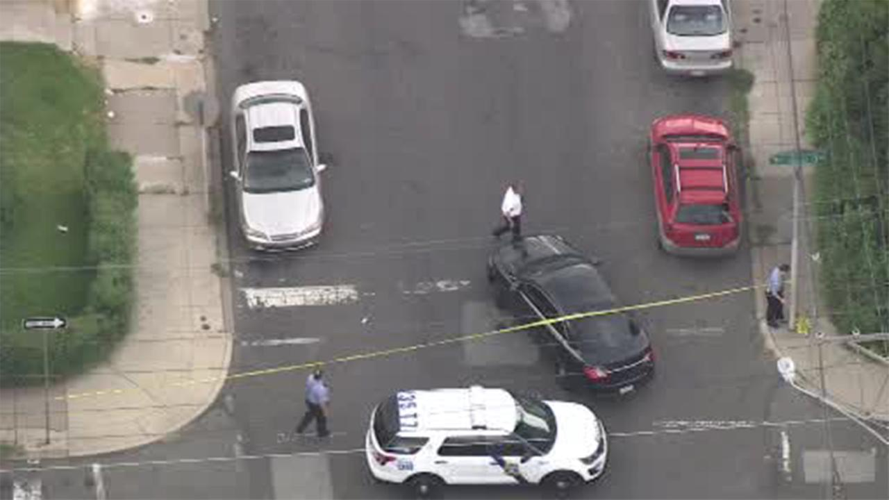 Philadelphia police are investigating a shooting that left a man injured in Olney.