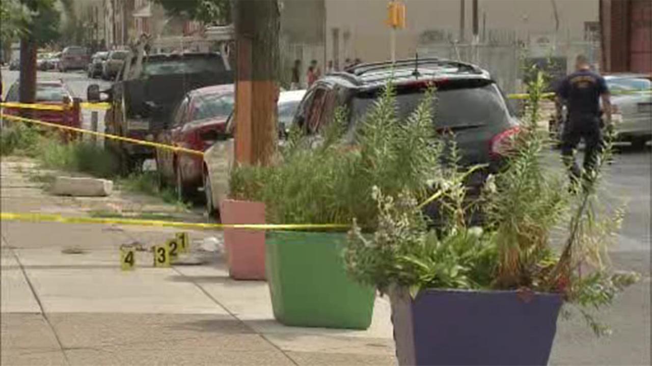 Philadelphia police are investigating a homicide in Kensington.