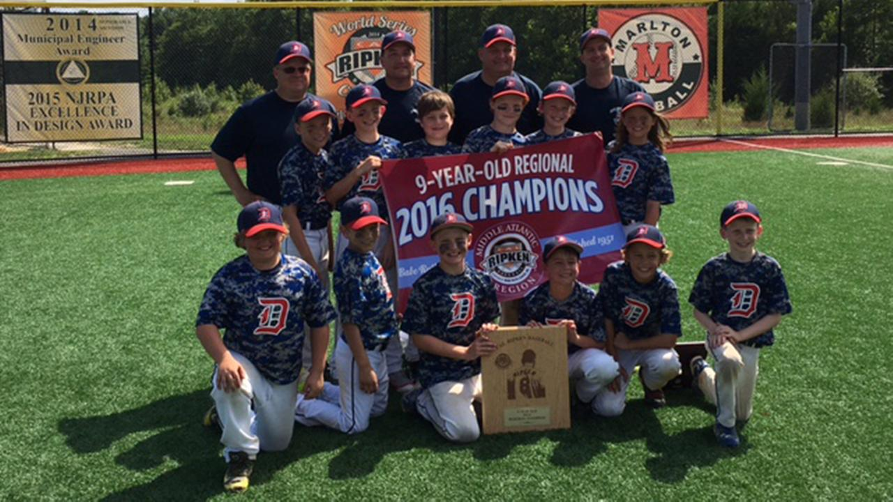 Congratulations are in order for the Doylestown 9U baseball team.