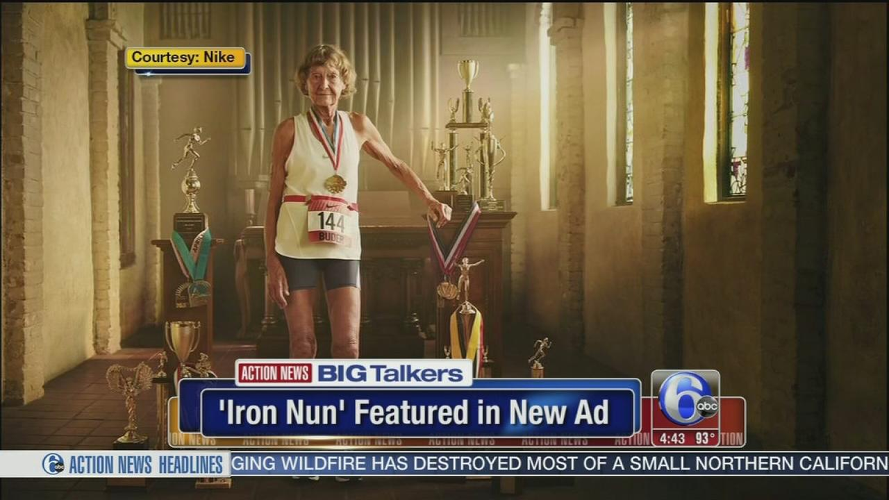 VIDEO: 86-year-old Iron Nun featured in new Nike ad campaign