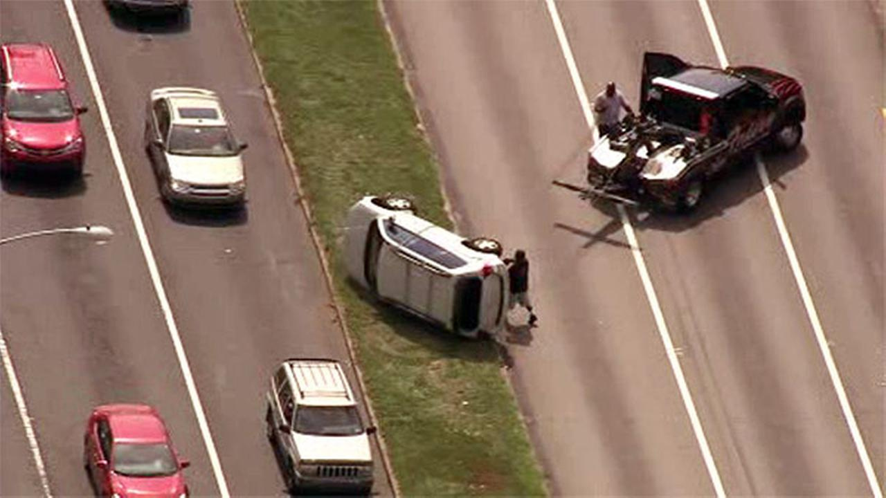 Crash on Roosevelt Boulevard in Northeast Philadelphia