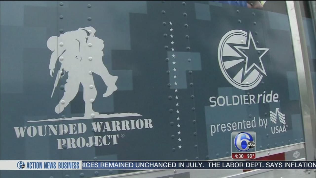 VIDEO: $40,000 worth of gear stolen from Wounded Warriors