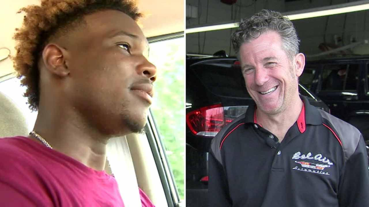 VIDEO: Local mechanic donates car to Ga. student