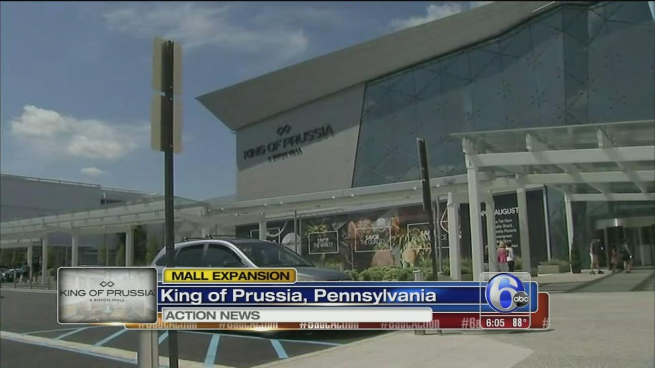 VIDEO: King of Prussia expansion opens