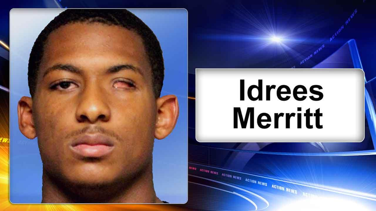 Pictured: Idrees Merritt, 20, of Wilmington