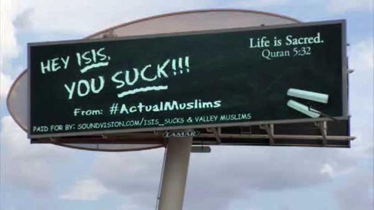 A billboard campaign that started in Arizona has a big message for ISIS.