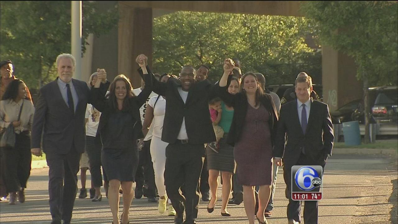 VIDEO: Man freed after 25 years