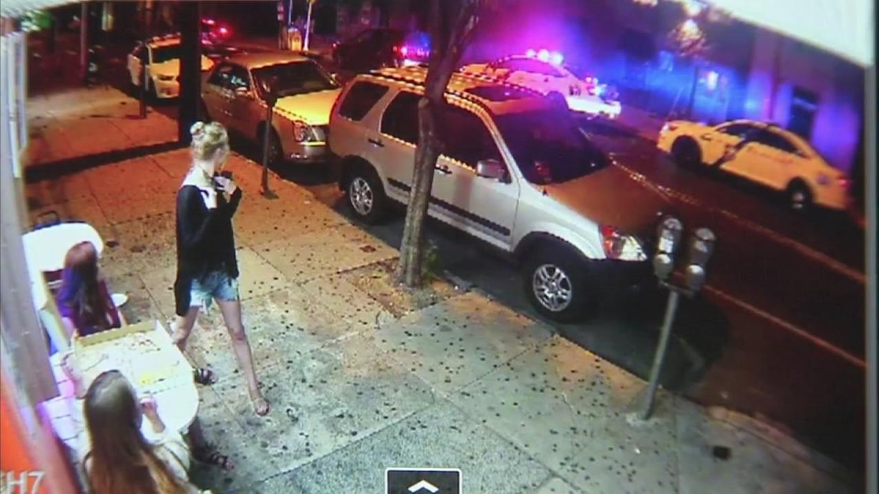 VIDEO: Surveillance video of police officer hit and run
