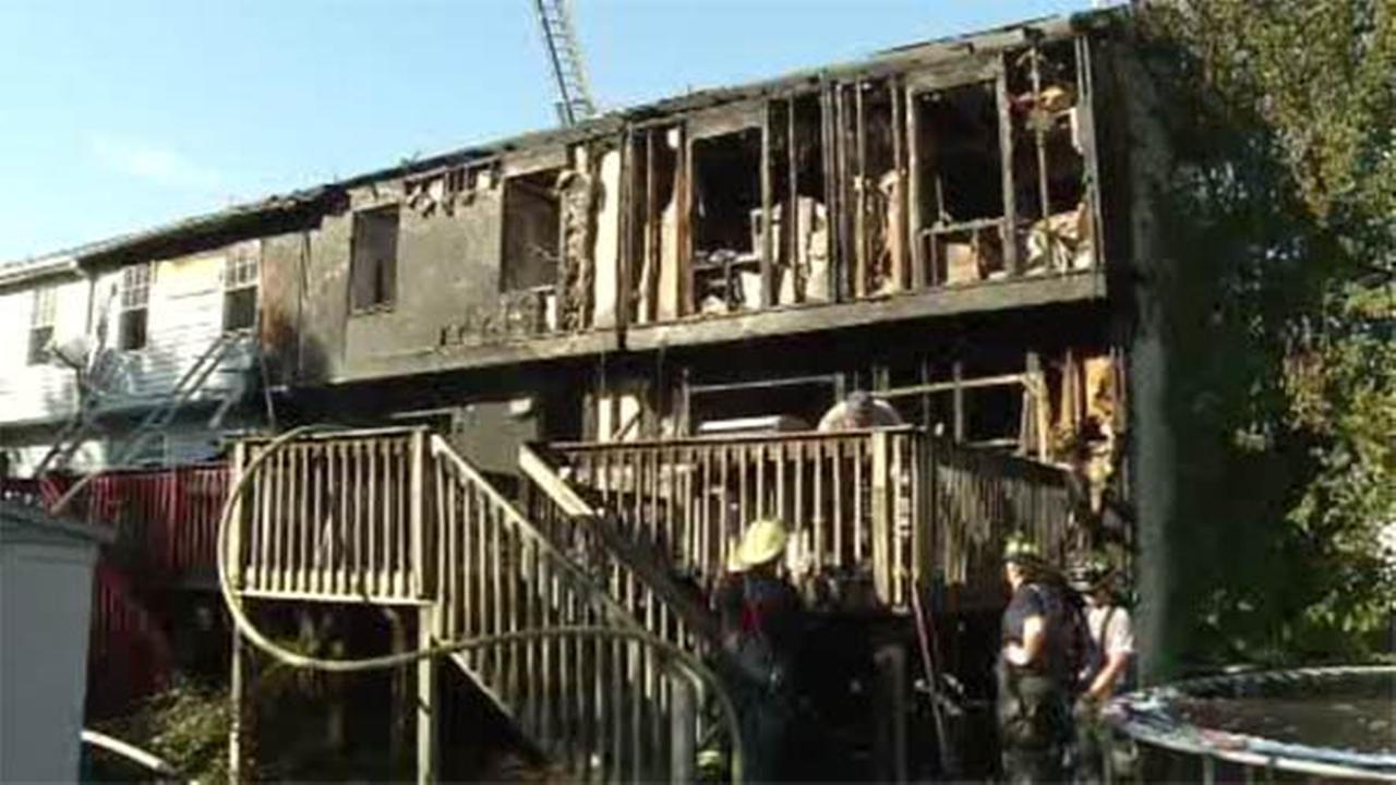 Firefighter burned in Middletown, Del.