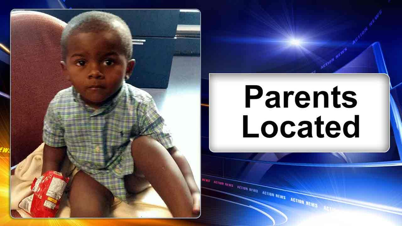 Parents located after toddler found wandering in Dover, Delaware