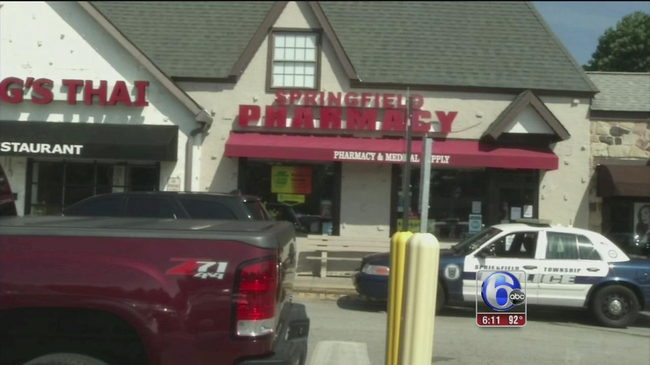 VIDEO: Pharmacy robbery in Delco