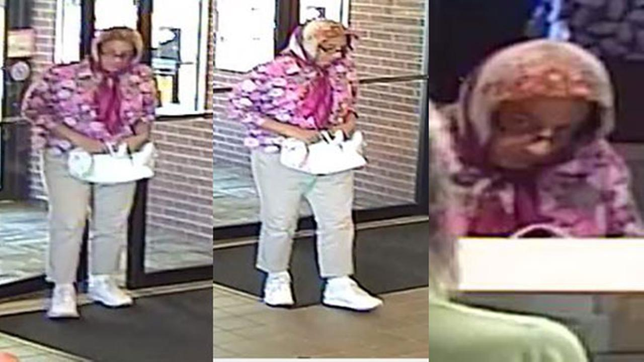 Police: Man dressed in women's clothing robbed Reading bank