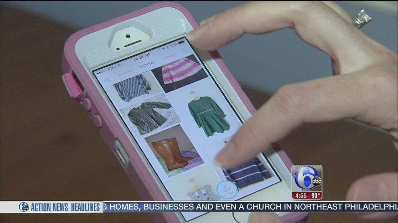 VIDEO: App lets parents buy and sell kids clothes right from home