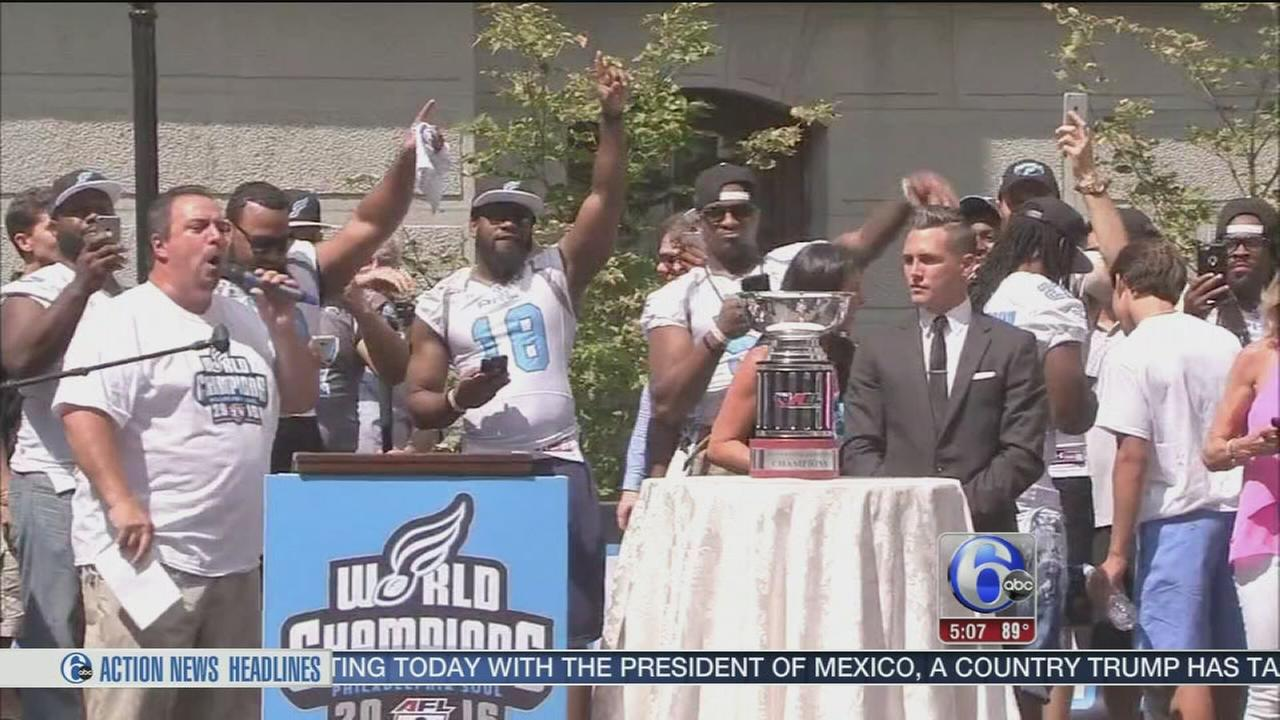 VIDEO: Philadelphia holds Soul celebration