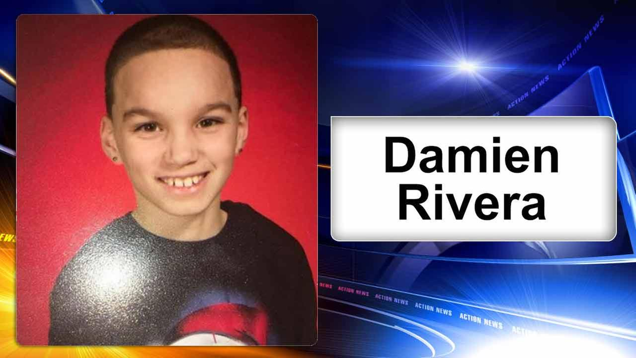 Philadelphia police search for missing 12-year-old boy