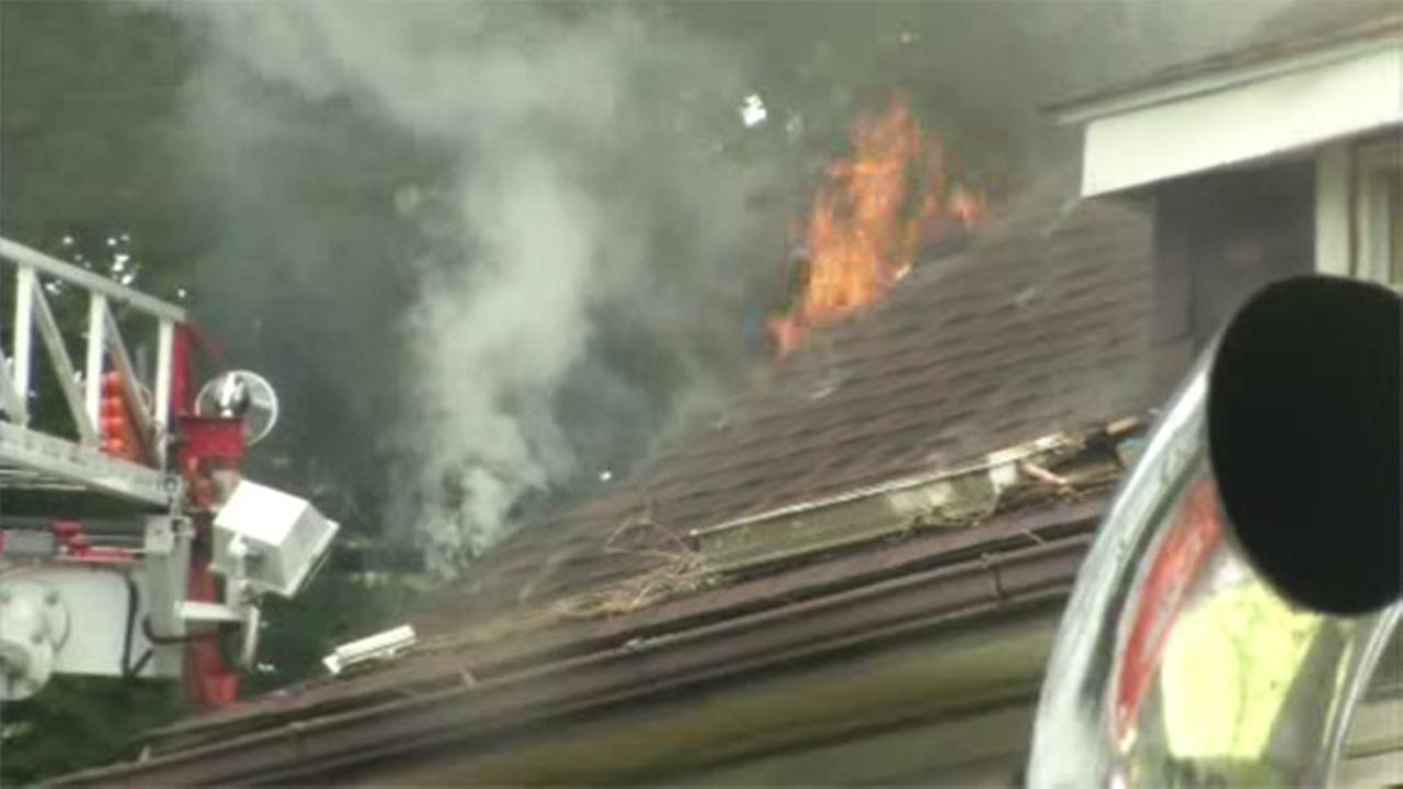 Fire damages apartments inside converted house in Delco