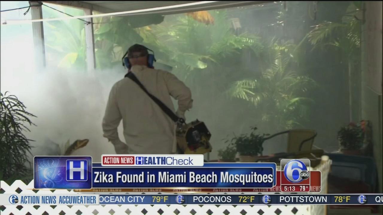 VIDEO: Zika Miami Beach