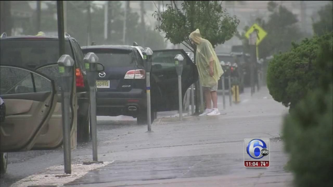 VIDEO: Shore storm preps