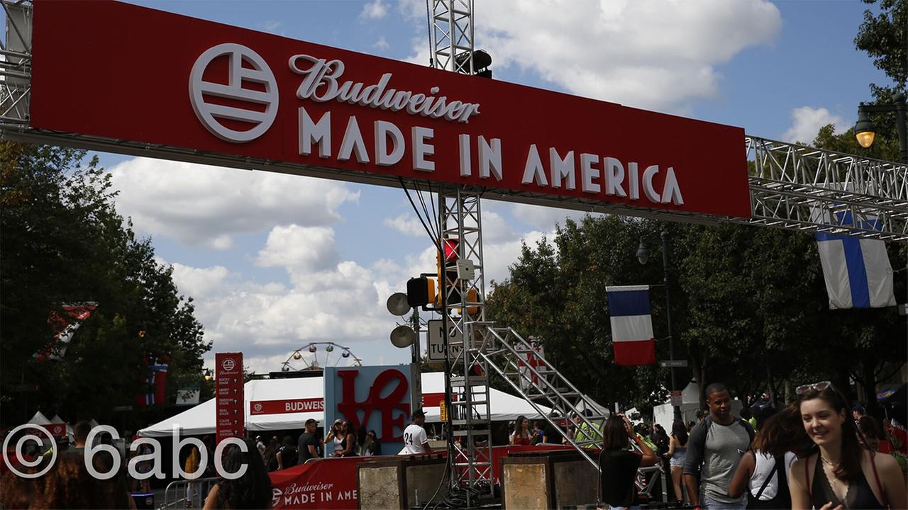 Scenes from Made in America 2016.