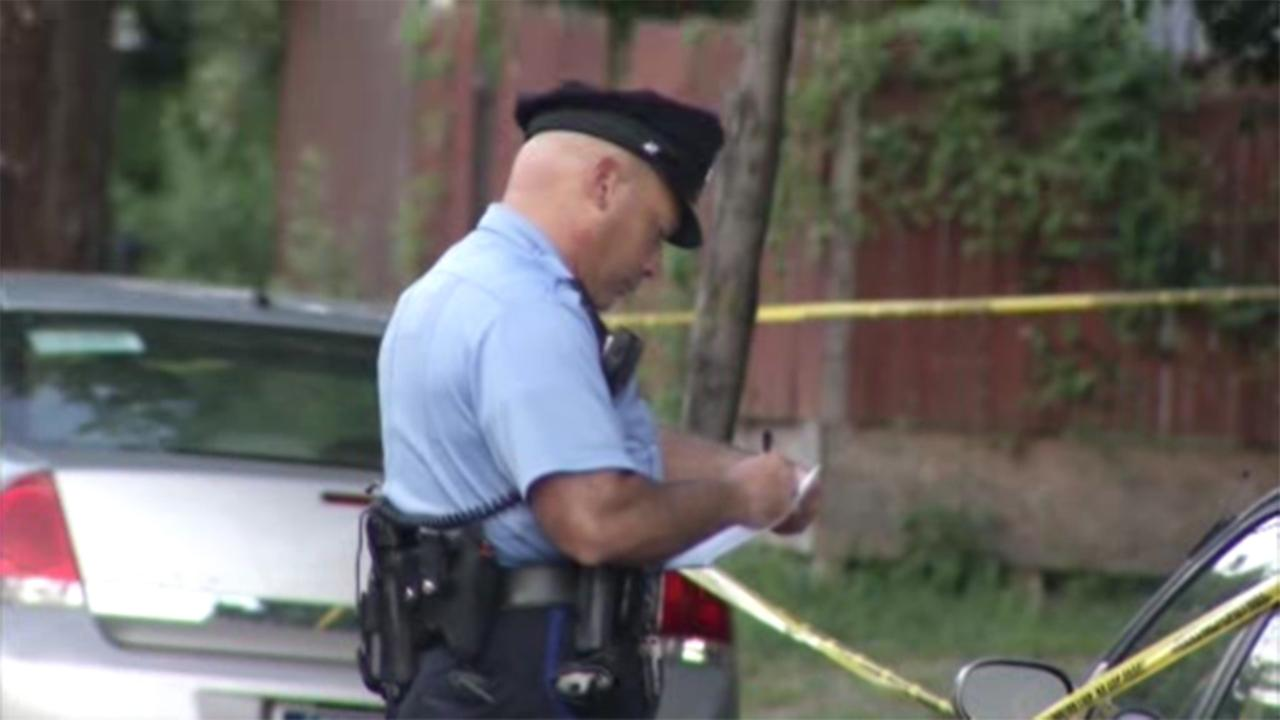 Police are searching for a man accused of shooting his brother in Philadelphias Frankford section.