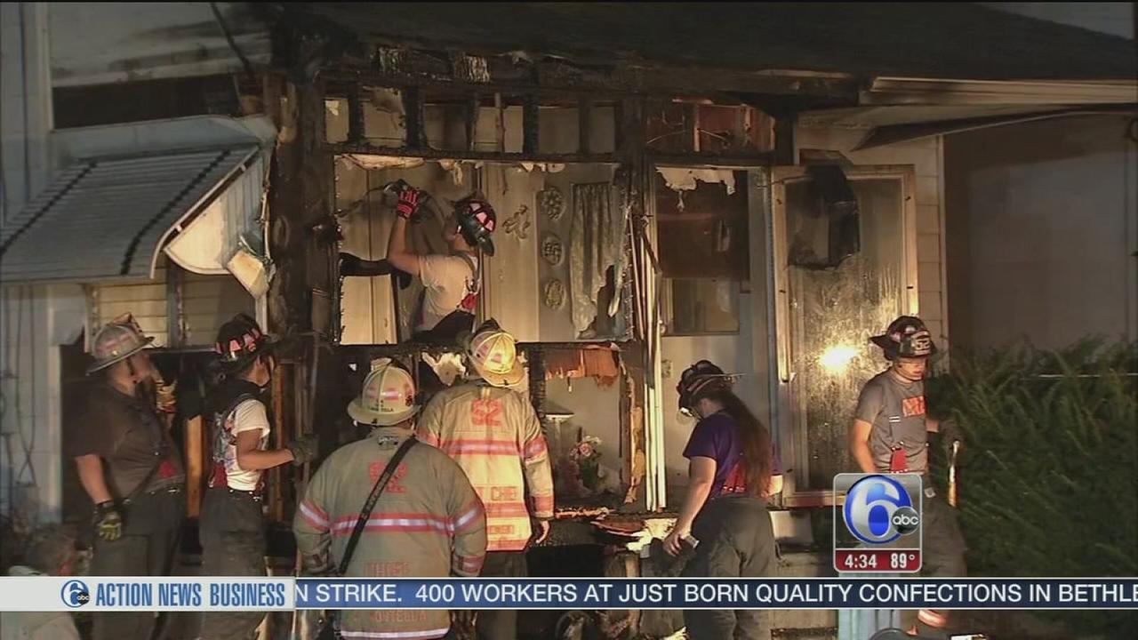VIDEO: Fire in Brookhaven