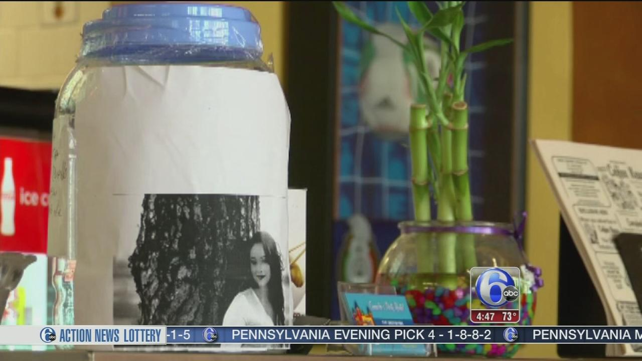 VIDEO: Woman sees photo on funeral fund jars in Ca.