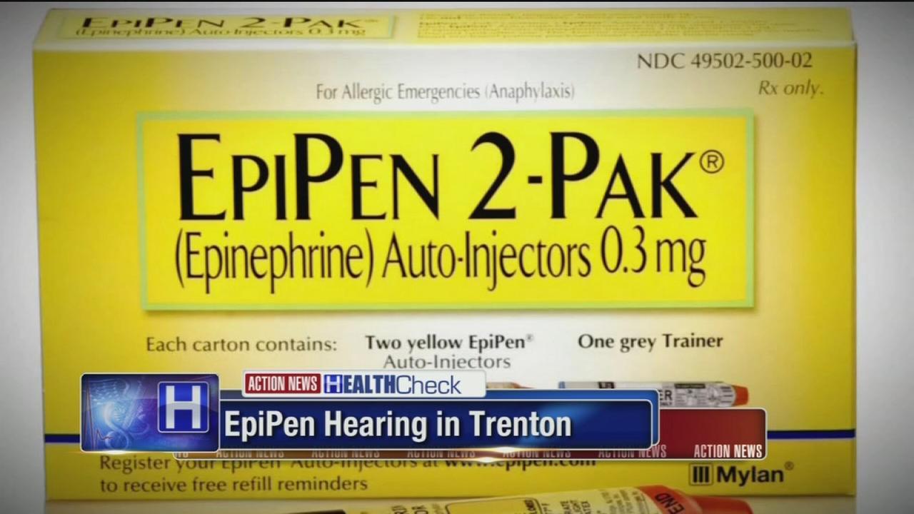 VIDEO: Epipen hearing