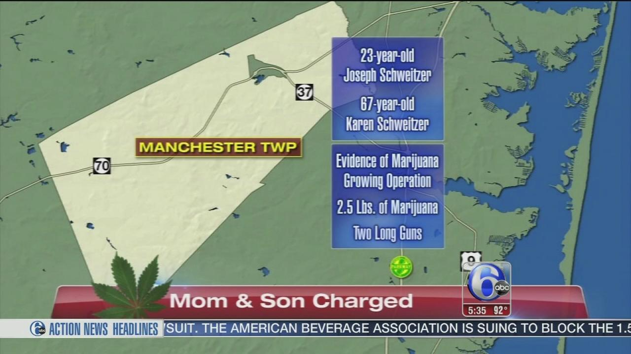 VIDEO: Mother, son charged
