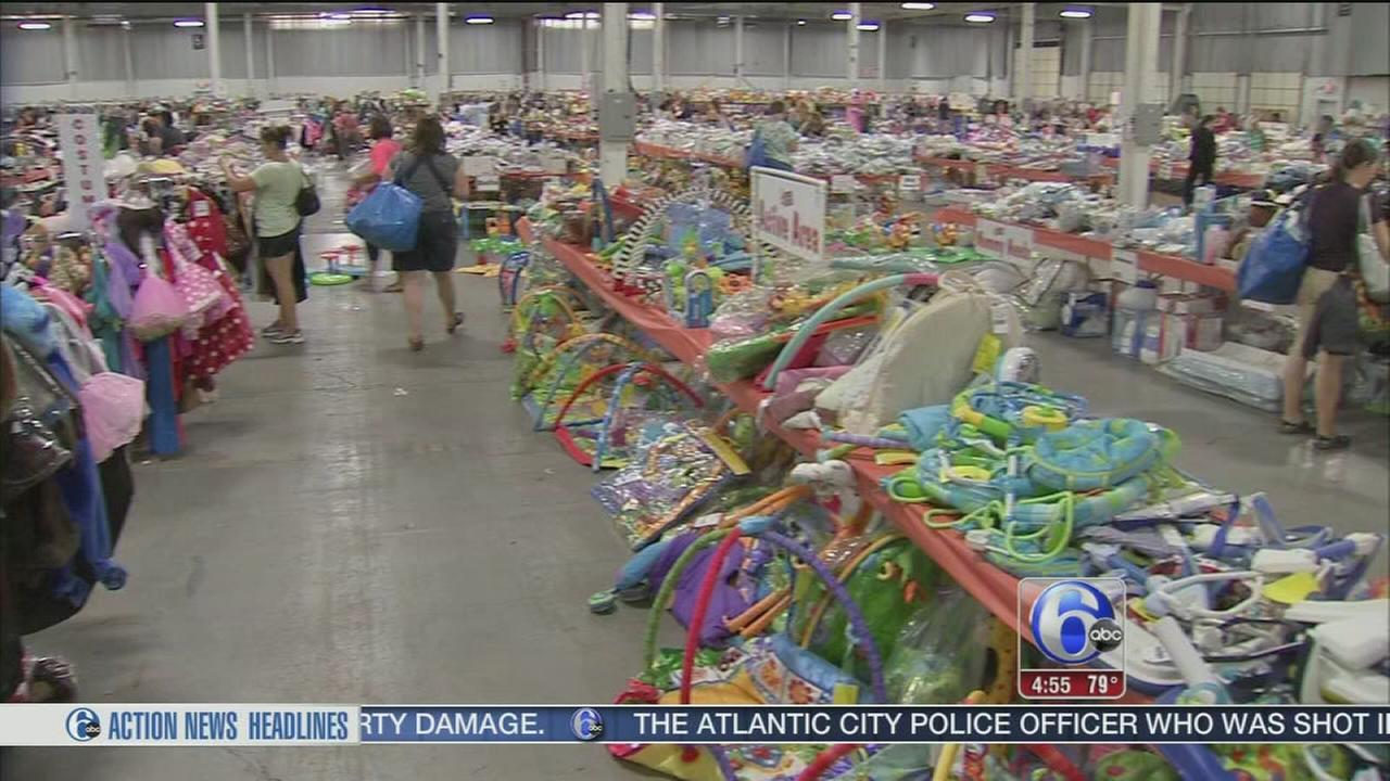 VIDEO: JFB consignment sale