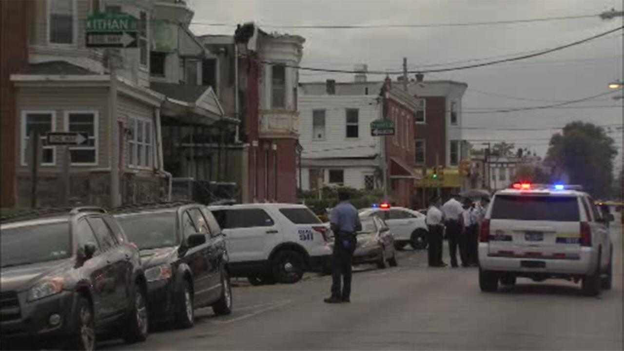 Police are investigating a homicide in West Philadelphia.