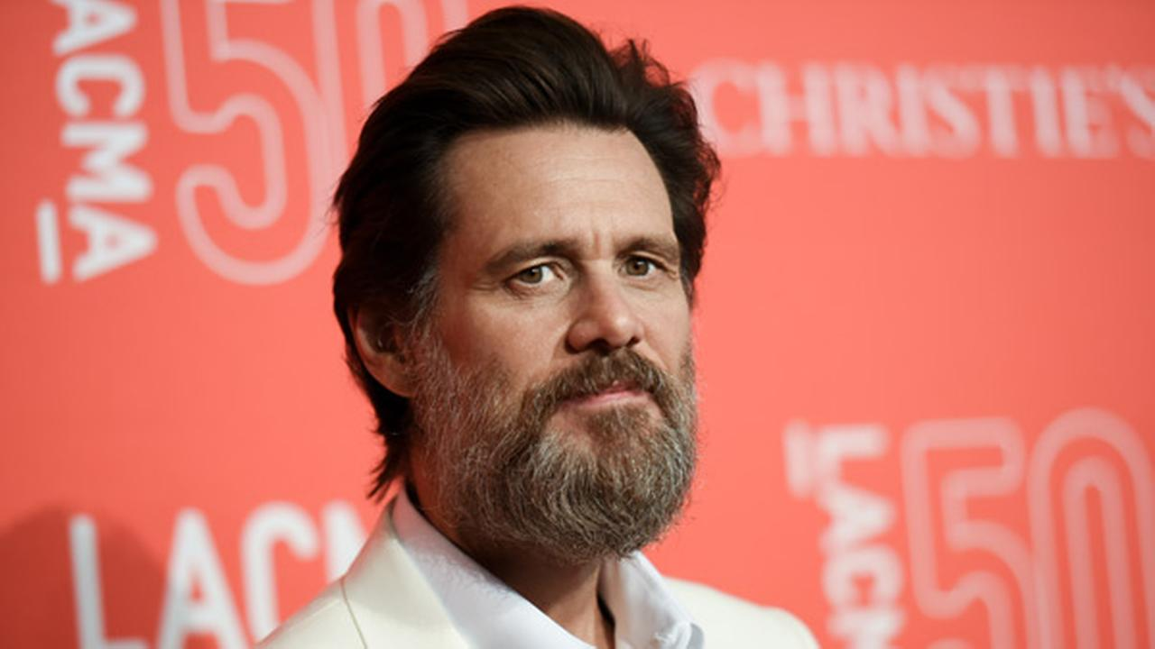 Jim Carrey arrives at LACMAs 50th Anniversary Gala held at Los Angeles County Museum of Art on Saturday, April 18, 2015, in Los Angeles.