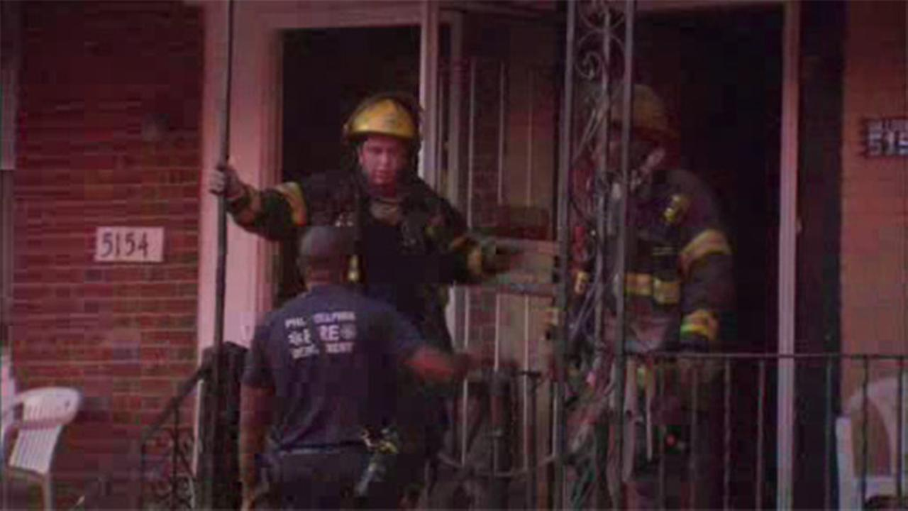 Fire damages house in Germantown