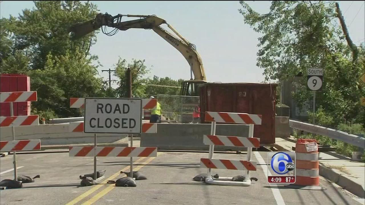 Bridge Improvements in Delaware City
