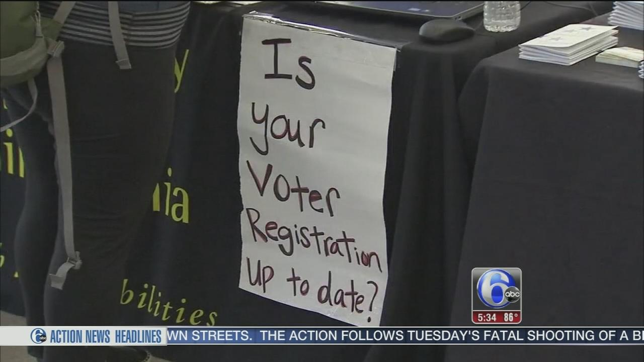 VIDEO: Voter registration