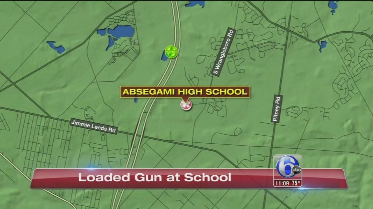 VIDEO: Loaded gun at school