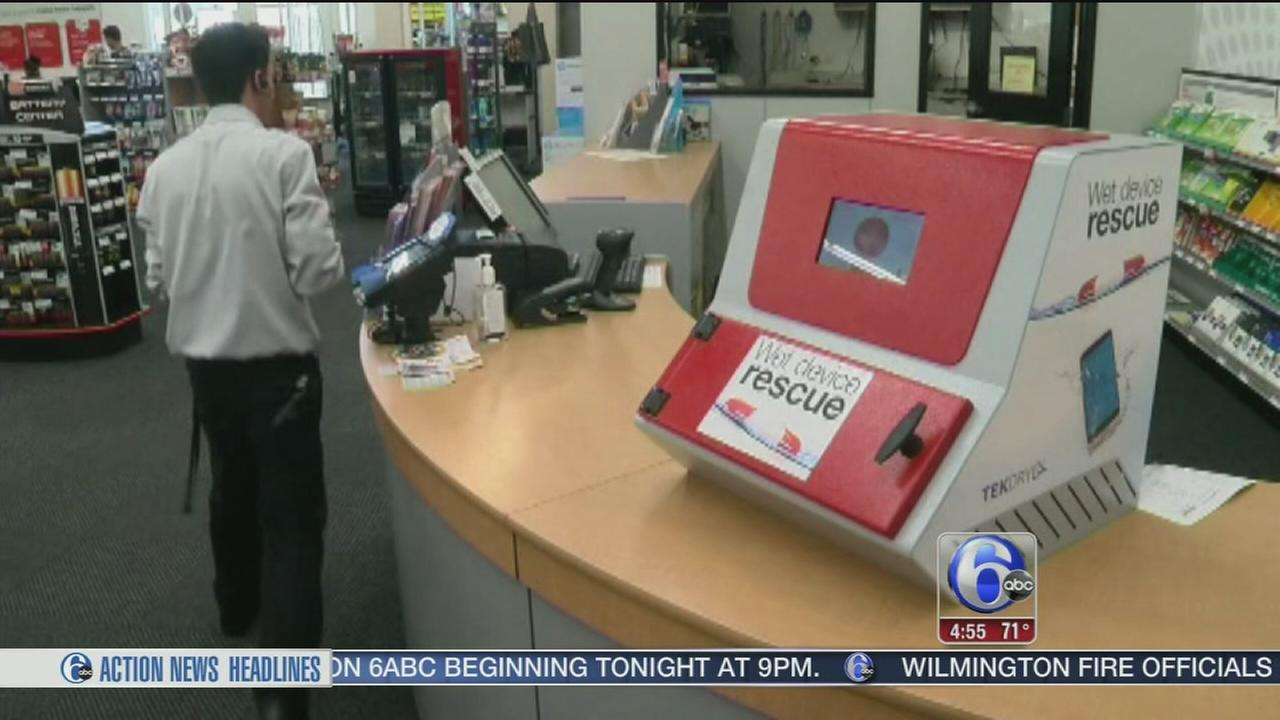 VIDEO: New invention can repair cell phones damaged by water