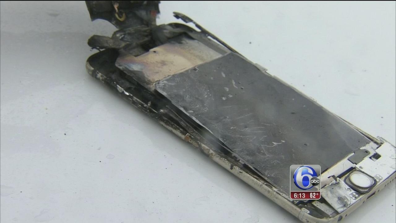 VIDEO: Rowan exploding cell phone
