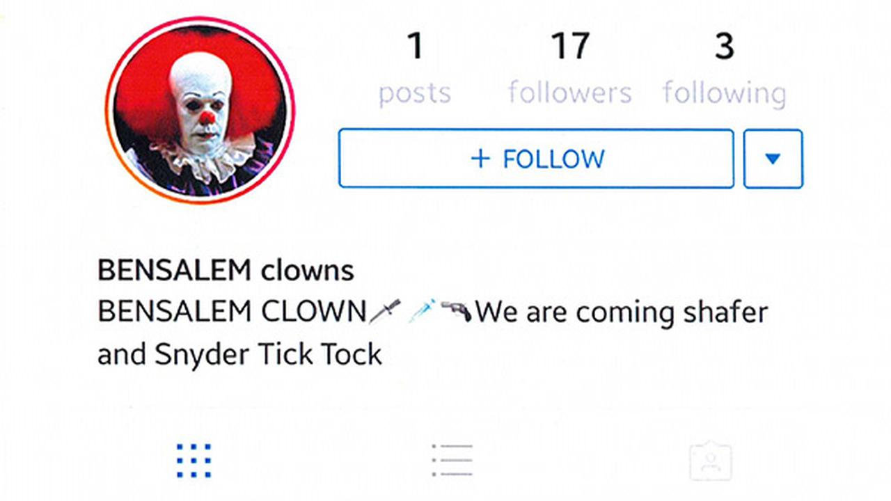 12-year-old Bensalem student arrested for clown threat