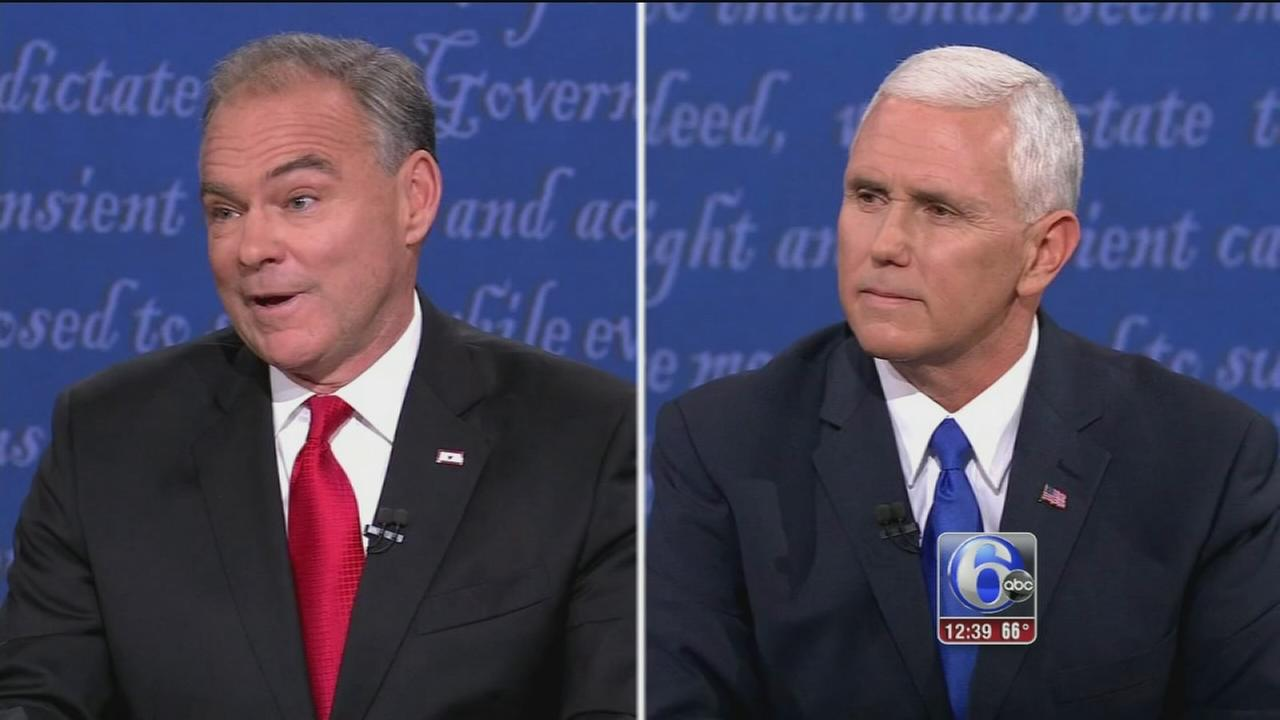 VIDEO: VP candidates Kaine, Pence campaign in Pennsylvania