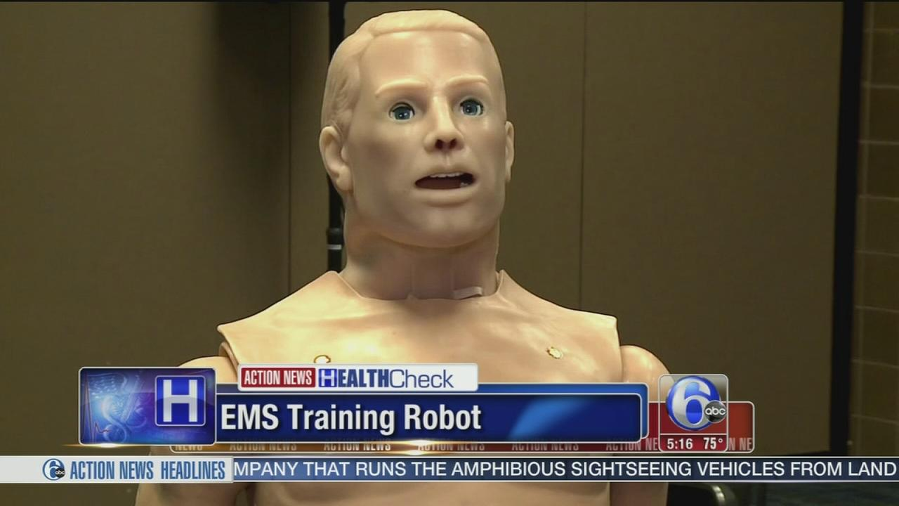 VIDEO: EMS training robot