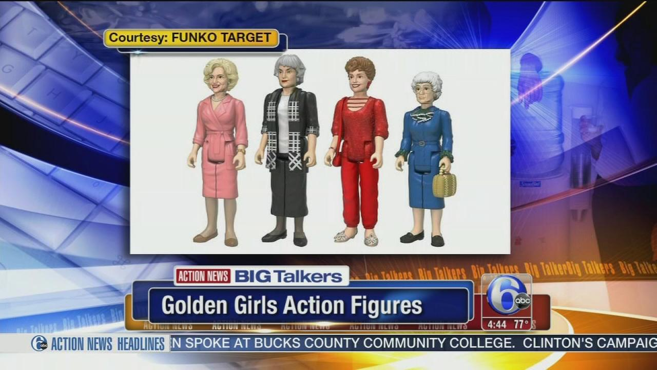 VIDEO: Golden Girls action figures to debut at New Yorks Comic Con