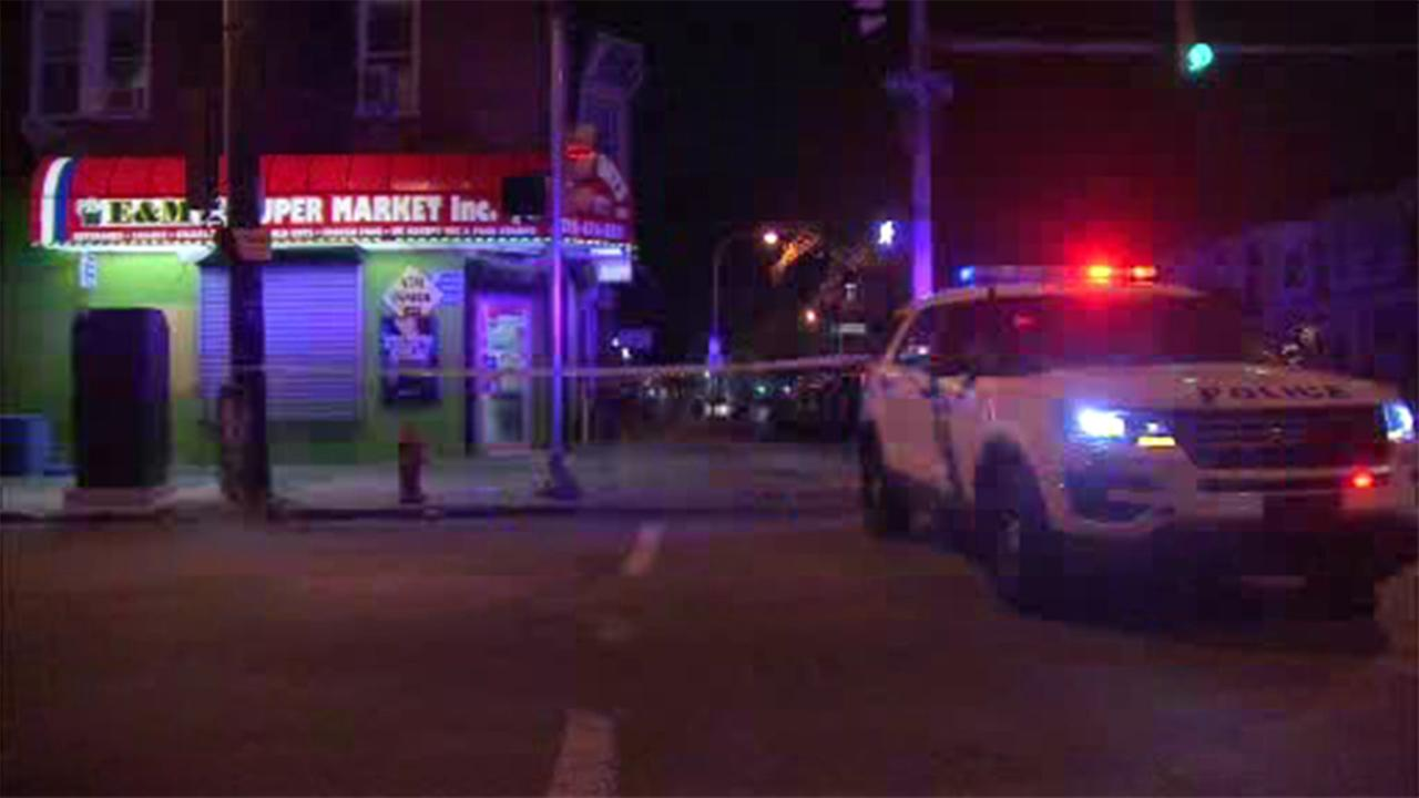Philadelphia police are investigating after a man was stabbed during an armed robbery in West Philadelphia.