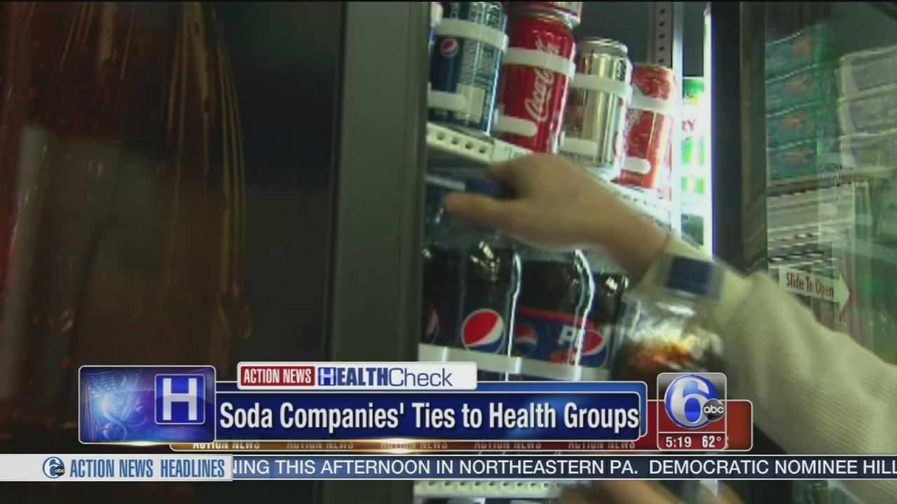 VIDEO: Soda companies ties to health groups