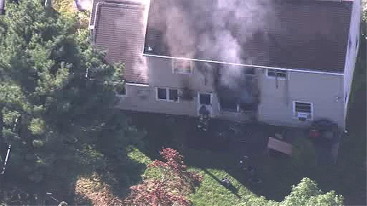 Fire damages home in Willingboro, N.J.