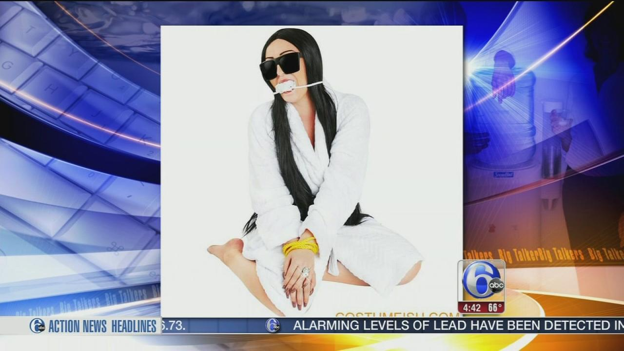 VIDEO: Kim Kardashian robbery costume stirs online backlash
