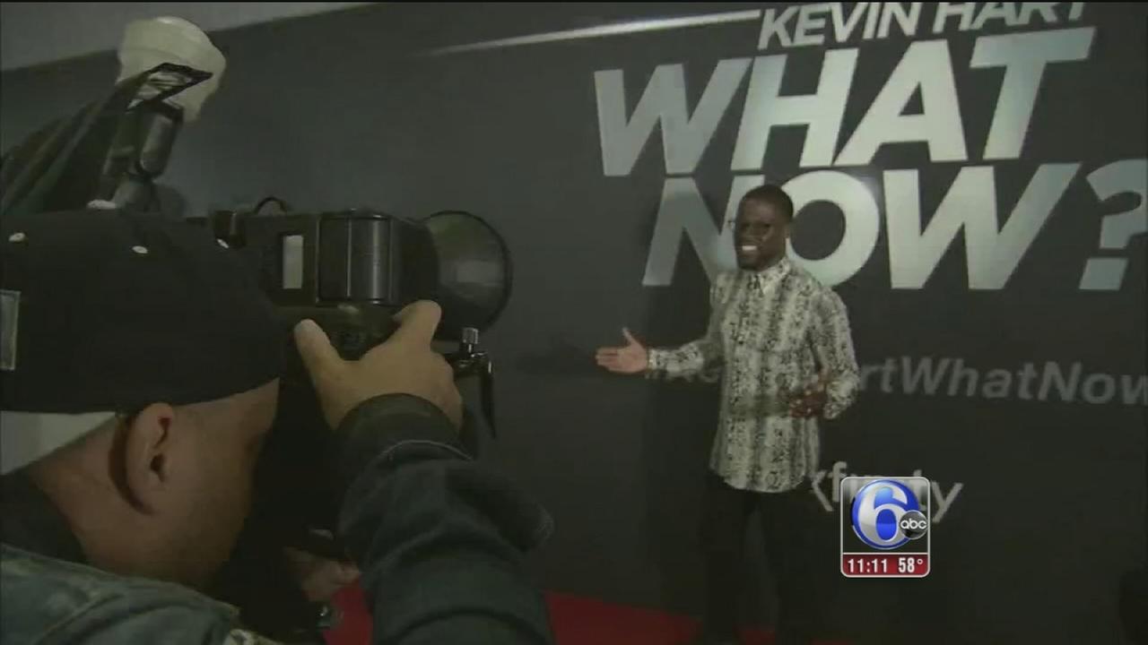 VIDEO: Kevin Hart screening