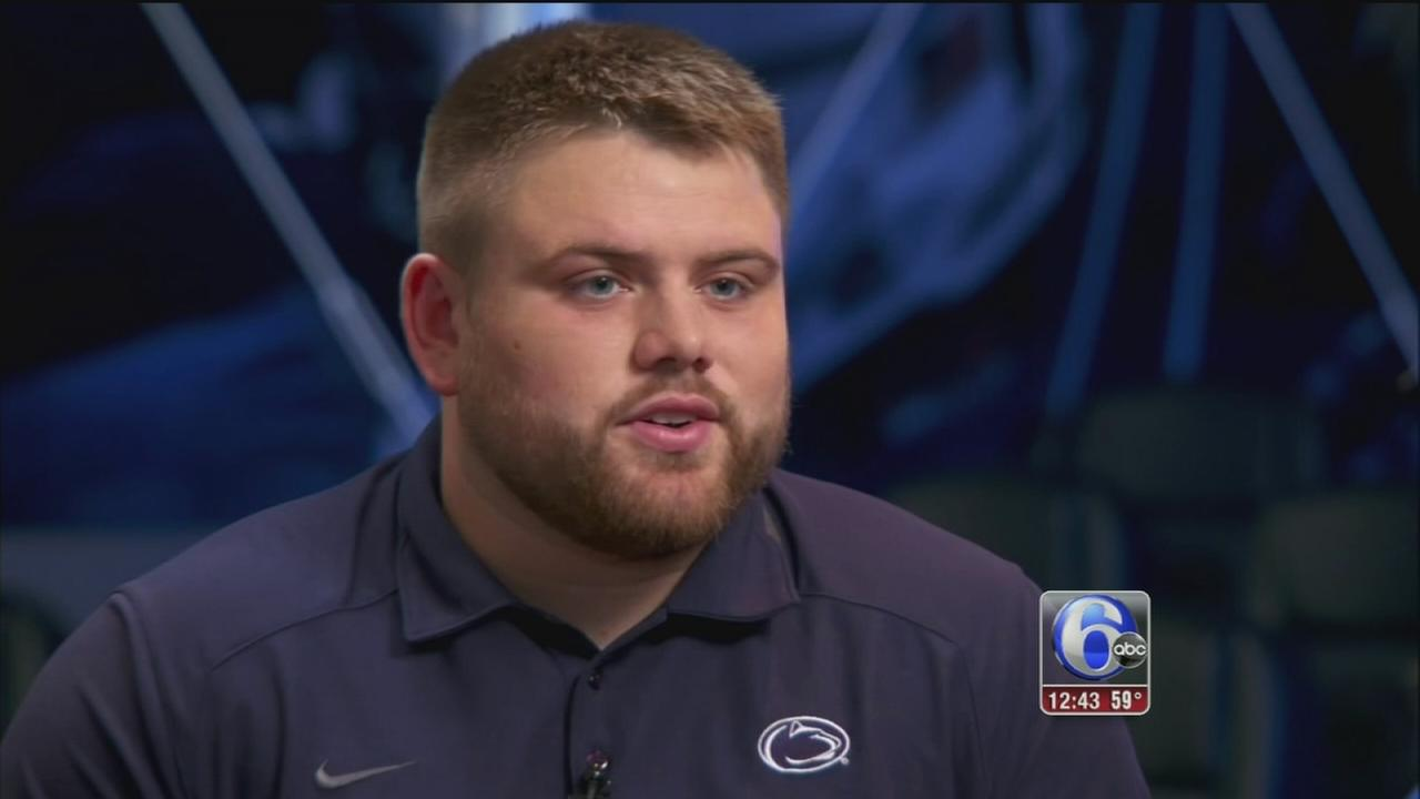 VIDEO: Penn State kicker opens up about binge eating disorder