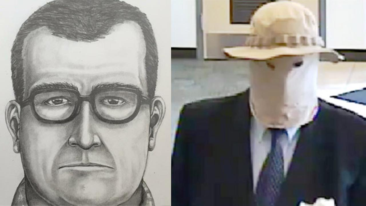 'Straw Hat Bandit' sought for 11 Pa. bank robberies