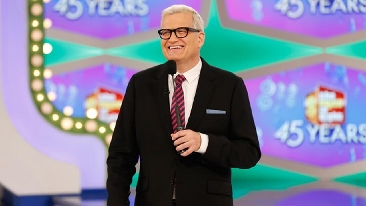 In this image released by CBS, host Drew Carey appears on the set of The Price is Right.