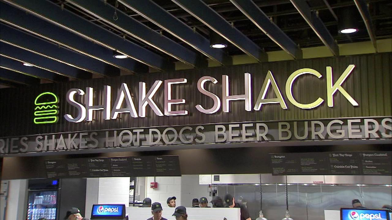 You can now cheer on the Philadelphia 76ers and Flyers while eating a burger from Shake Shack at the Wells Fargo Center.
